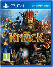 Knack PlayStation 4 Cover Art