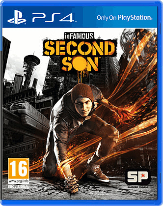 inFAMOUS Second Son for PlayStation 4 at GAME