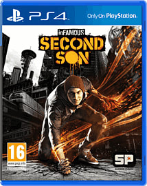 inFAMOUS: Second Son PlayStation 4 Cover Art
