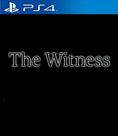 The Witness PlayStation 4 Cover Art