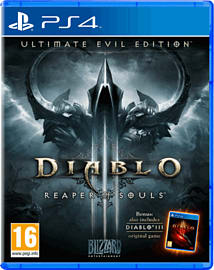 Diablo III Ultimate Evil Edition PlayStation 4 Cover Art