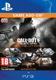Call of Duty: Black Ops II - Revolution PlayStation Network Cover Art