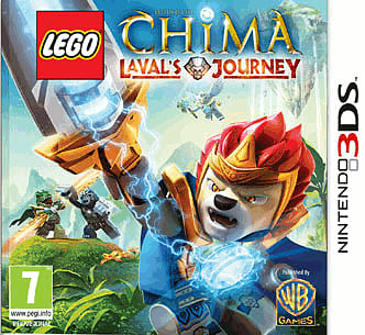 LEGO Legends of Chima: Laval's Journey 3DS Cover Art