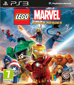 LEGO Marvel Super Heroes PlayStation 3 Cover Art