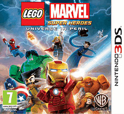 LEGO Marvel Super Heroes 3DS Cover Art