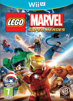 LEGO Marvel Super Heroes Wii U Cover Art