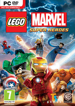 LEGO Marvel Super Heroes PC Games Cover Art