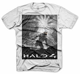 Halo 4: Savior: Black T-Shirt - Large Clothing and Merchandise