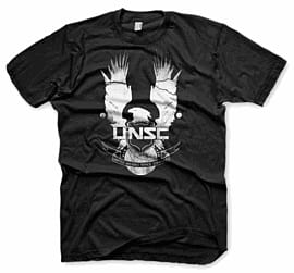 Halo 4 UNSC T-Shirt - Medium Clothing and Merchandise