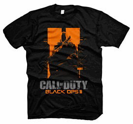 Call of Duty: Black Ops II T-Shirt - Medium Clothing and Merchandise