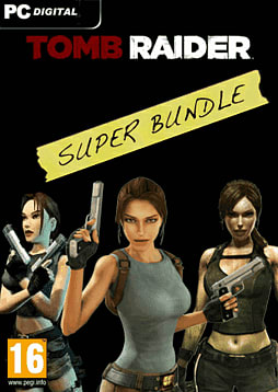 Tomb Raider Super Bundle PC Games Cover Art
