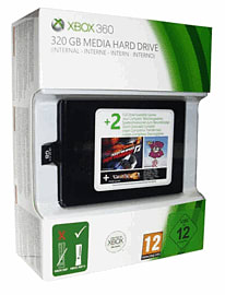 Xbox 360 320GB Media Hard Drive Accessories