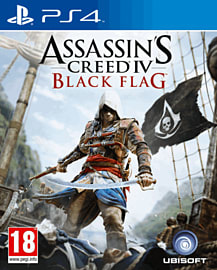 Assassin's Creed IV: Black Flag PlayStation 4 Cover Art