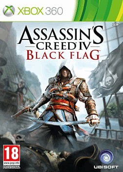 Assassin's Creed IV: Black Flag Xbox 360 Cover Art