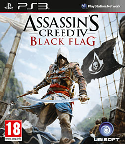 Assassin's Creed IV: Black Flag PlayStation 3 Cover Art