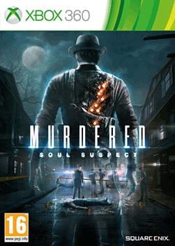 Murdered: Soul Suspect Limited Edition Xbox 360 Cover Art