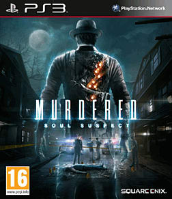 Murdered: Soul Suspect Limited Edition PlayStation 3 Cover Art