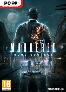 Murdered: Soul Suspect Limited Edition PC Games Cover Art