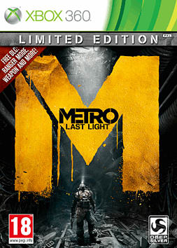 Metro: Last Light - Limited Edition Xbox 360 Cover Art