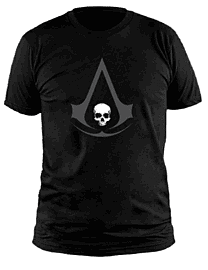 Assassin's Creed IV: Black Flag GAME Exclusive T-Shirt (Small) Clothing and Merchandise