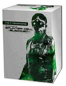 Tom Clancy's Splinter Cell: Blacklist GAME Exclusive 5th Freedom Collector's Edition PlayStation-3 Cover Art