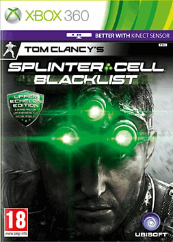 360 SPLINTER CELL BLACKLIST E Xbox 360 Cover Art