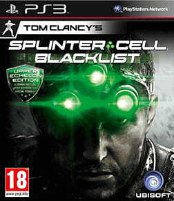 Tom Clancy's Splinter Cell: Blacklist Upper Echelon Edition PlayStation 3 Cover Art
