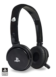 Officially Licensed Stereo Gaming Headset for PS3 - Black Accessories