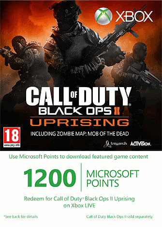 Call of Duty Black Ops 2 Uprising Expansion for Xbox 360 at GAME