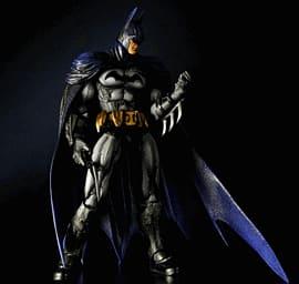 Batman Arkham City Play Arts Kai Batman Figure Toys and Gadgets