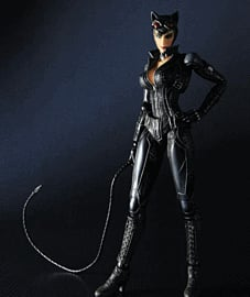 Batman Arkham City Play Arts Kai Catwoman Figure Toys and Gadgets