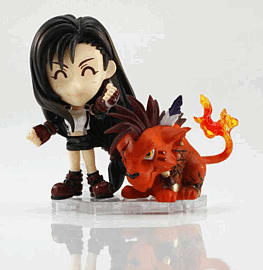 Final Fantasy Trading Arts Mini Kai No.4 Tifa Figure Toys and Gadgets