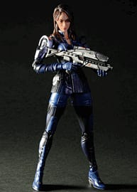 Mass Effect 3 Play Arts Kai Ashley Williams Figure Toys and Gadgets