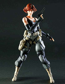 Metal Gear Solid Play Arts Kai Meryl Silverburg Figure Toys and Gadgets