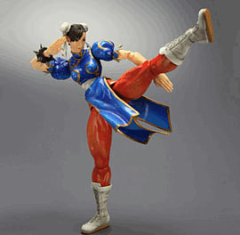 Super Street Fighter IV Play Arts Kai Vol.2 Chun-Li Figure Toys and Gadgets