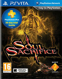 Soul Sacrifice PS Vita Cover Art