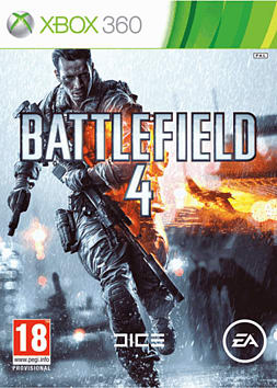 Battlefield 4 with China Rising Expansion Pack Xbox 360 Cover Art