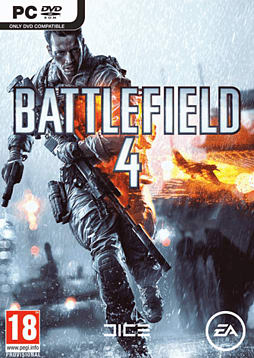 Battlefield 4 with China Rising Expansion Pack PC Games Cover Art
