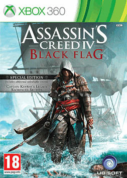 Assassin's Creed IV: Black Flag Special Edition - Only at GAME Xbox 360