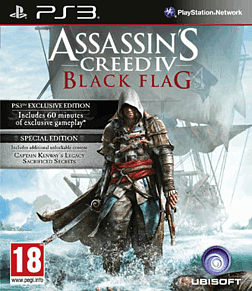 Assassin's Creed IV: Black Flag Special Edition - Only at GAME PlayStation 3 Cover Art