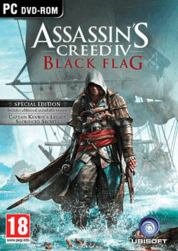 Assassin's Creed IV: Black Flag Special Edition - Only at GAME PC Games Cover Art
