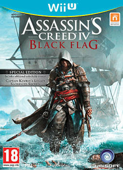Assassin's Creed IV Black Flag Special Edition Wii U Cover Art