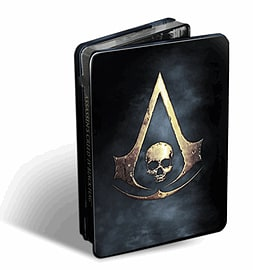 Assassin's Creed IV: Black Flag Skull Edition Wii U Cover Art