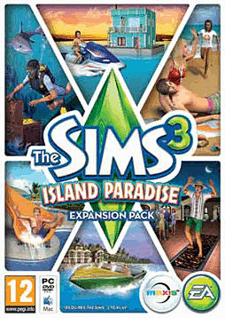 The Sims 3: Island Paradise PC Games Cover Art