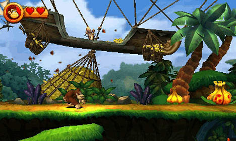 Donkey Kong Country Returns 3D on Nintendo 3DS at GAME