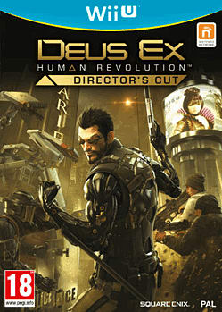 Deus Ex: Human Revolution - Director's Cut Wii U Cover Art