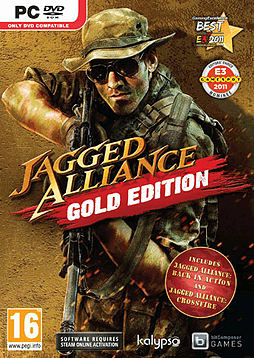 Jagged Alliance Gold Edition PC Games Cover Art