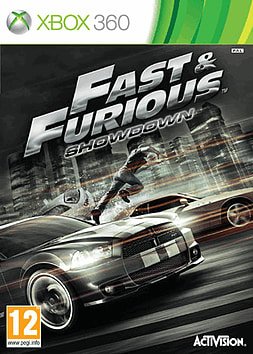 Fast & Furious: Showdown Xbox 360 Cover Art