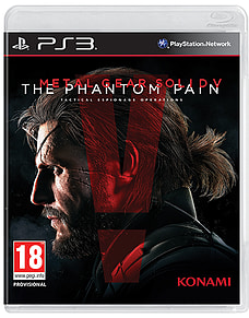 Metal Gear Solid V: The Phantom Pain PlayStation 3 Cover Art