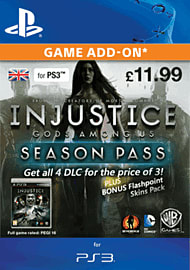 Injustice Season Pass PlayStation Network Cover Art